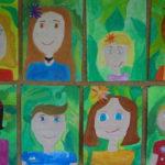 Selbstportrait - Klasse 4b